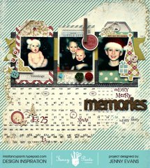 Merry Merry Memories *Fancy Pants Designs*