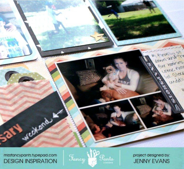 Project Life: June 16-25 *Fancy Pants Designs*