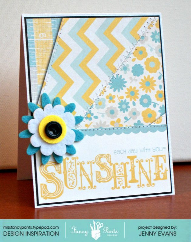 Sunshine card *Fancy Pants Designs*