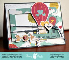 Up Up and Away card *Fancy Pants Designs*