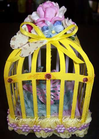 "3D Butterfly cage ""Captured"""