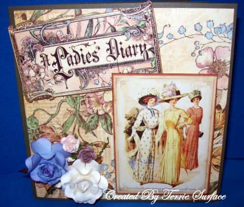 A Ladies Diary Card