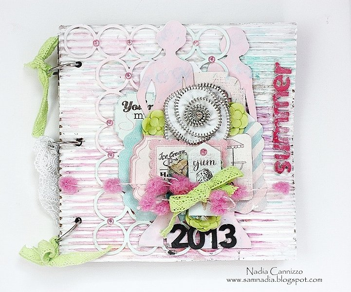 Summer 2013 *Scraps Of Elegance August kit*