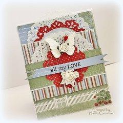All My Love * Maja Design*