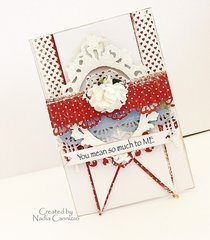 You mean so much to me card *Maja Design*
