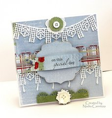 On This Special day card * Maja Design*