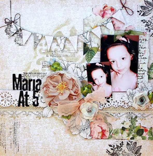 Maria At 5..