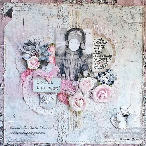 You are the best *SCRAPS OF ELEGANCE JANUARY KIT**
