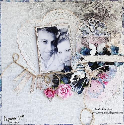 I love this memory **SCRAPS OF ELEGANCE JANUARY KIT**