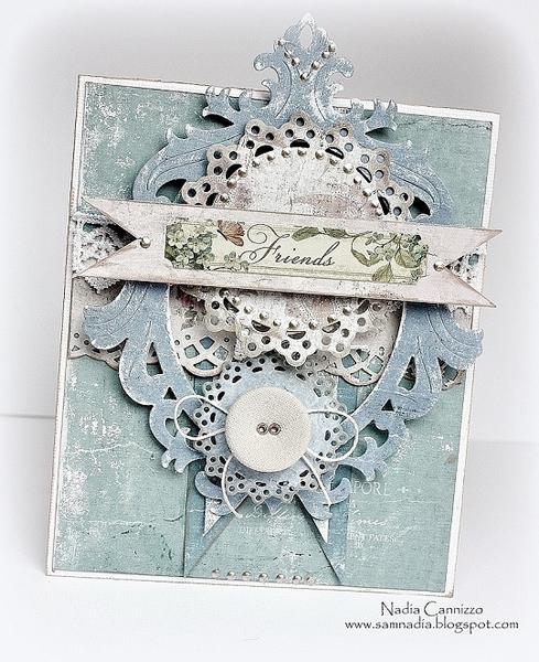 Friends card for *MAJA DESIGN*
