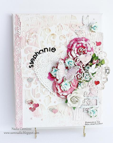 Canvas * Scraps Of Elegance February Kit*