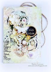 Sunrise tag *Scraps Of Elegance April Kit *