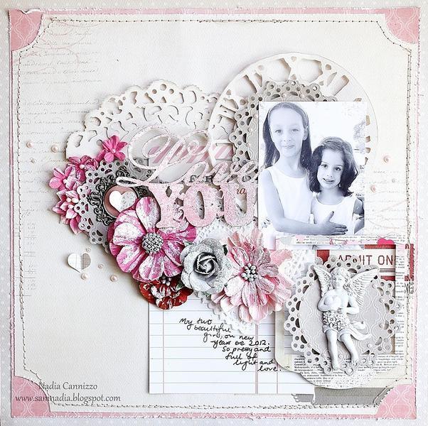Love You * Scraps Of Elegance February Kit*