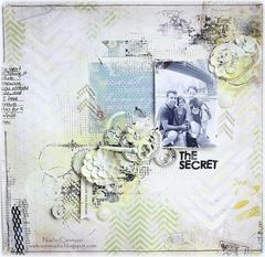 The Secret *Scraps Of Elegance April Kit *
