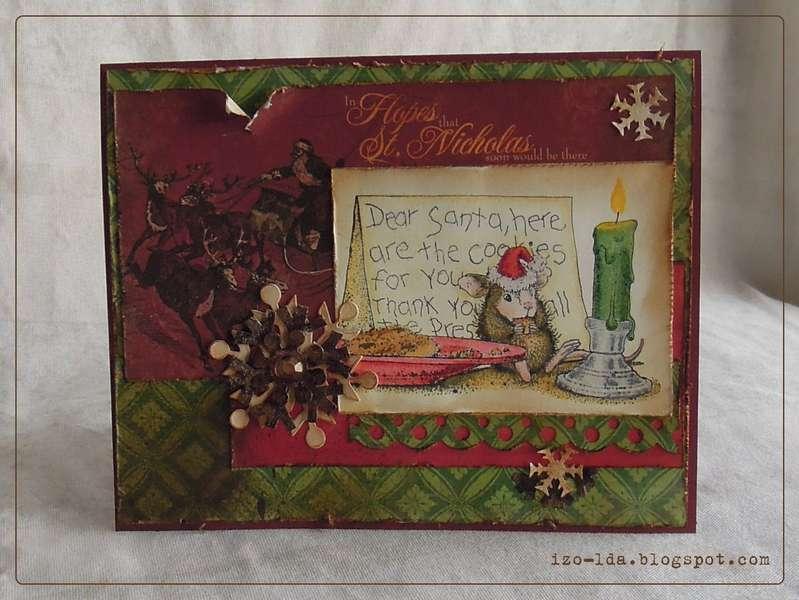 Dear Santa.. Chrismas card