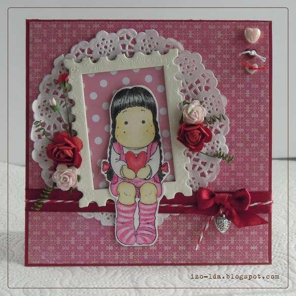 Tilda Valentine card