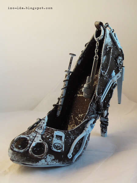 Altered shoe