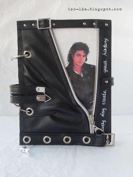 Michael Jackson notebook