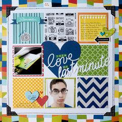 Teen Love of Last Minute **Creative Scrappers**