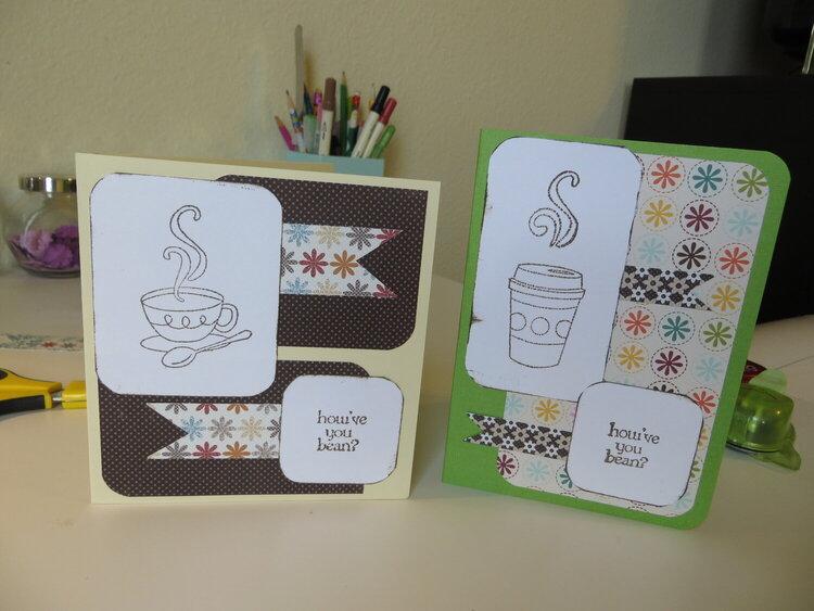 Coffee/Tea Acrylic Stamps