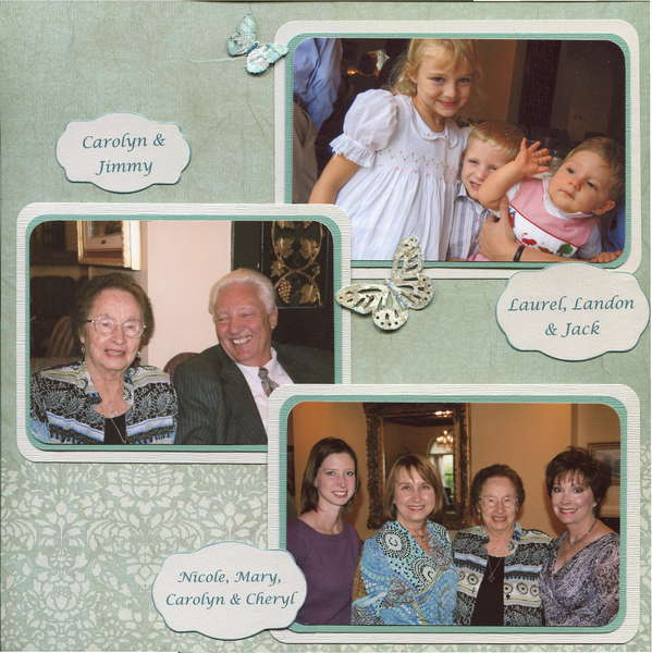Carolyn's 90th (right page)