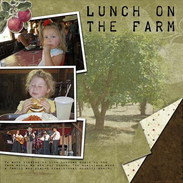 Lunch on the Farm