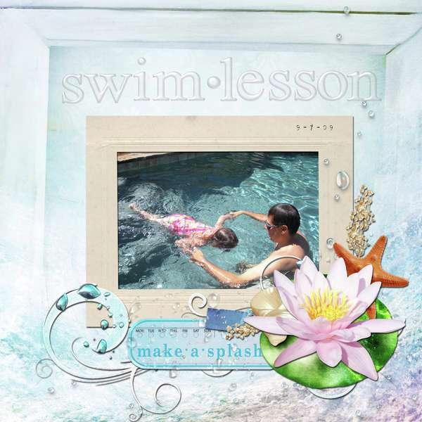 Swim Lesson 1