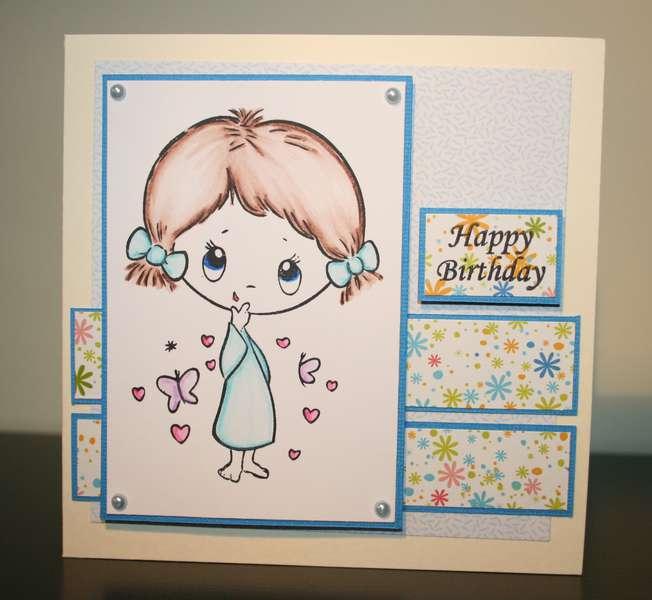 SWALK Birthday Card
