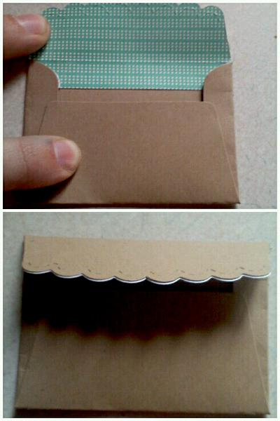 Start of kraft envelopes