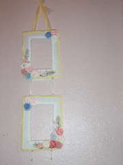 Frame Swap (frames I made for my partner Starr Timmons)