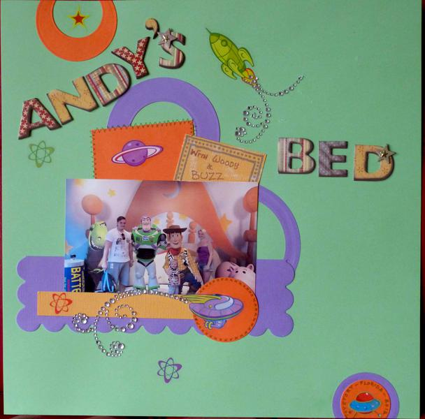 Andy's Bed