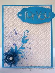 For you CAS card