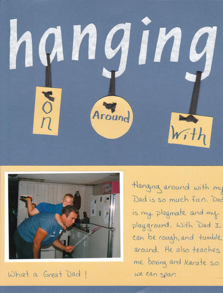 Hanging on Daddy