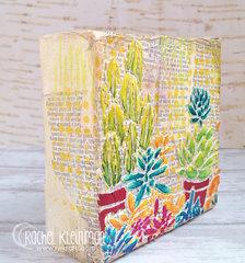 Desert Garden Canvas