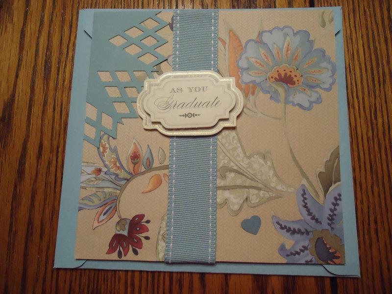 Graduation Card - Blue