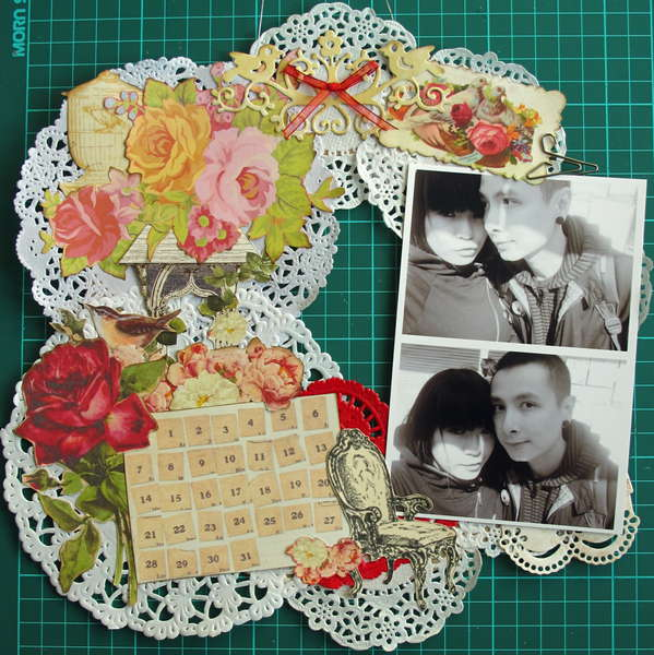 Play with Paper Doilies - Hanging Wall Deco