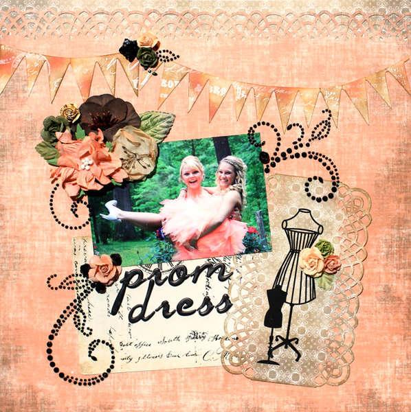"""""""Prom Dress"""" **C'est Magnifique September** & ~Sketch Inspiration~"""