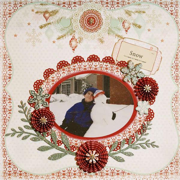"""""""Let it Snow!"""" **C'est Magnifique** December kit"""
