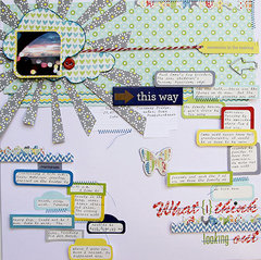 What I think Looking Out by Lily Bee DT Member, Patricia Roebuck featuring the new Sweet Shoppe Collection