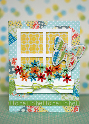 Hello featuring the Pinwheel Collection from Lily Bee