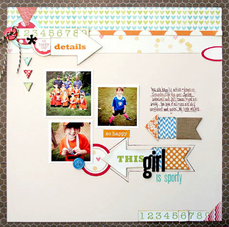 This Girl is Sporty by Stacey Michaud