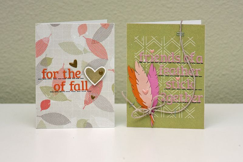 Urban Autumn Cards by Lily Bee DT Member Summer Fullerton