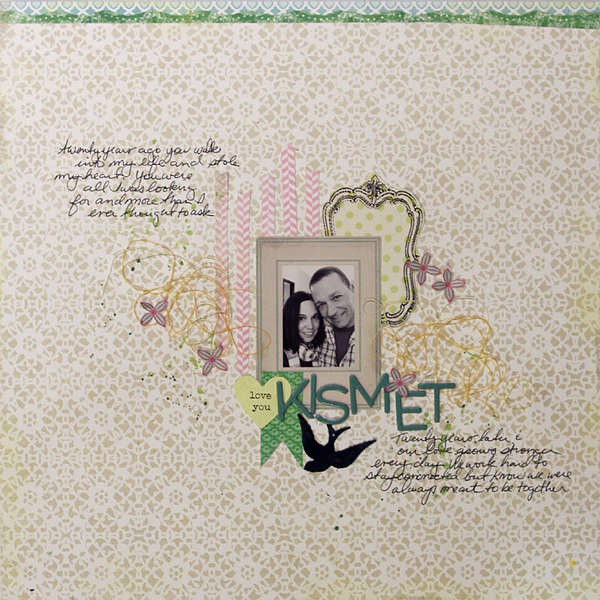 Kismet by Ronda Palazzari featuring Victoria Park by Lily Bee