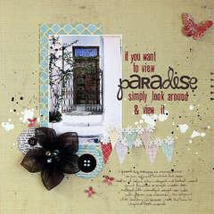Paradise by Ronda Palazzari