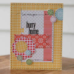 Hurry Home by Lisa Day featuring Handmade by Lily Bee