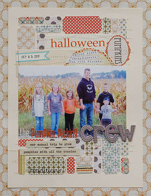 Pumpkin Crew by Lisa Day featuring Lily Bee Harvest Market