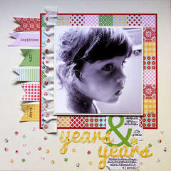 Years & Years by Lisa VanderVeen featuring Handmade by Lily Bee