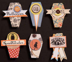 Coffin Halloween Treat Boxes by Cindy Liebel