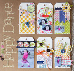 Happy Dance by Cindy Liebel featuring Double Dutch from Lily Bee
