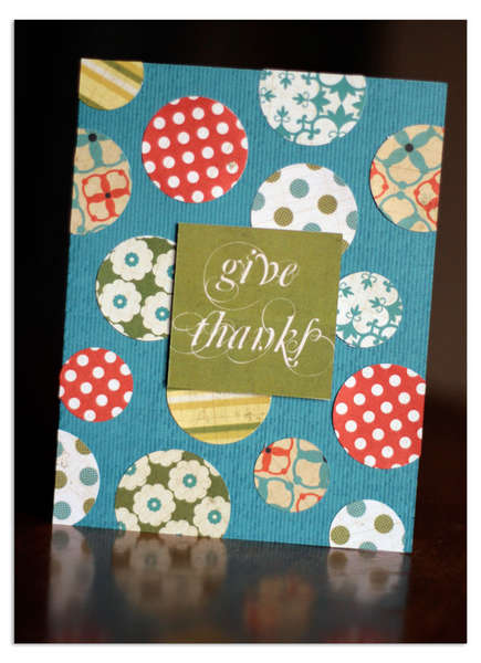 Give Thanks by Lisa Dickinson